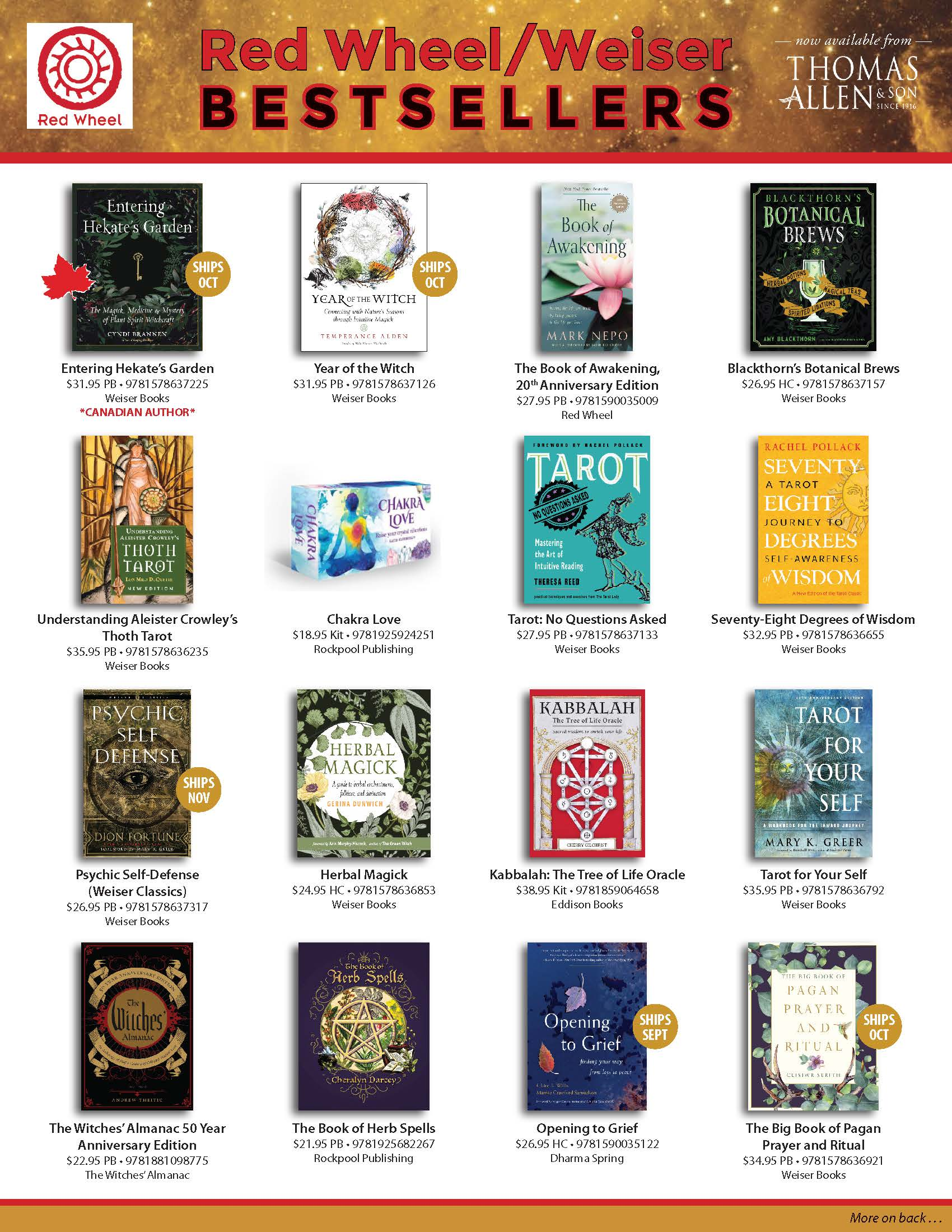 Red Wheel/Weiser Bestsellers